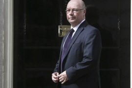 Alistair Burt arrives at 10 Downing Street as Britain's re-elected Prime Minister David Cameron names his new cabinet, in central London, Britain May 11, 2015.    REUTERS/Neil Hall