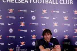 Soccer Football – Premier League – Chelsea – Antonio Conte Press Conference – Chelsea FC Training Ground, London, Britain – February 23, 2018   Chelsea manager Antonio Conte during the press conference   Action Images via Reuters/Andrew Boyers