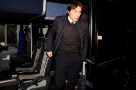 Soccer Football – Premier League – Watford vs Chelsea – Vicarage Road, Watford, Britain – February 5, 2018   Chelsea manager Antonio Conte arrives before the match    REUTERS/David Klein    EDITORIAL USE ONLY. No use with unauthorized audio, video, data, fixture lists, club/league logos or