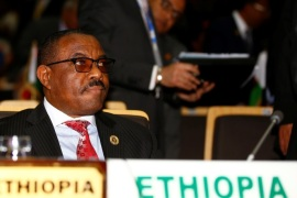 Ethiopia's Prime Minister Hailemariam Desalegn attends the 28th Ordinary Session of the Assembly of the Heads of State and the Government of the African Union in Ethiopia's capital Addis Ababa, January 30, 2017. Picture taken January 30, 2017. REUTERS/Tiksa Negeri