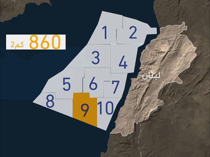 """البلوك 9"""".. نزاع النفط بين لبنان وإسرائيل"""