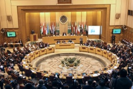 Arab League foreign ministers hold an emergency meeting on U.S. President Donald Trump's decision to recognise Jerusalem as the capital of Israel, in Cairo, Egypt February 1, 2018. REUTERS/Mohamed Abd El Ghany