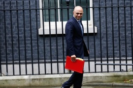 LONDON, ENGLAND – NOVEMBER 15: Communities Secretary Sajid Javid leaves Number 10, Downing Street, following the weekly Cabinet meeting on November 15, 2016 in London, England. The government insisted today that it does not recognise a leaked memo which suggests it has no overall plan for Brexit. (Photo by Tory Ho/Getty Images)