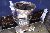 TESS, the Transiting Exoplanet Survey Satellite, is shown in this photo obtained by Reuters on March 28, 2018.  NASA plans to send TESS into orbit from the Kennedy Space Center in Florida aboard a SpaceX Falcon 9 rocket set for blastoff sometime between April 16 and June  on a two-year mission.    NASA/Handout via REUTERS   ATTENTION EDITORS – THIS IMAGE WAS PROVIDED BY A THIRD PARTY.