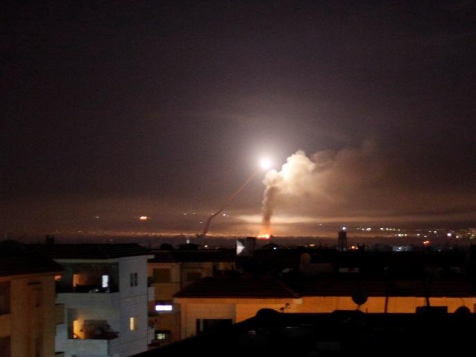 خلّف مقتل جندي.. دمشق تؤكد تصدي دفاعاتها الجوية لهجوم إسرائيلي استهدف وسط البلاد
