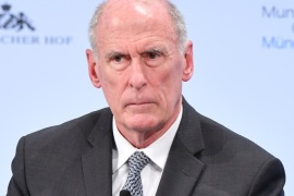 MUNICH, GERMANY – FEBRUARY 17: Director of National Intelligence Dan Coats participates in a panel talk at the 2018 Munich Security Conference on February 17, 2018 in Munich, Germany. The annual conference, which brings together political and defense leaders from across the globe, is taking place under heightened tensions between the USA, together with its western allies, and Russia. (Photo by Sebastian Widmann/Getty Images)