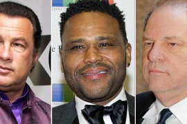 Harvey Weinstein     Anthony Anderson     Steven Seagal