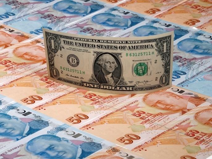الليرة التركية عند أدنى مستوى أمام الدولار في شهرين لماذا ومن