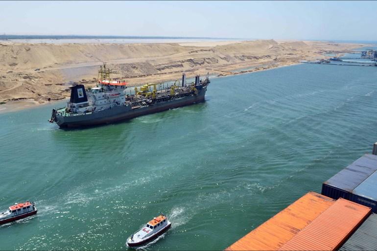 بعد أن ابتلعت الإمارات اقتصاد مصر.. لماذا يهدد التطبيع مع إسرائيل قناة السويس؟