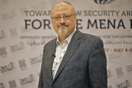 Saudi Arabia says Khashoggi died at Istanbul consulate- – ISTANBUL, TURKEY – (ARCHIVE) : A file photo dated May 6, 2018 shows Prominent Saudi journalist Jamal Khashoggi in Istanbul, Turkey. Saudi journalist Jamal Khashoggi died after a brawl inside the Saudi consulate in Istanbul, Saudi Arabia announced Saturday.