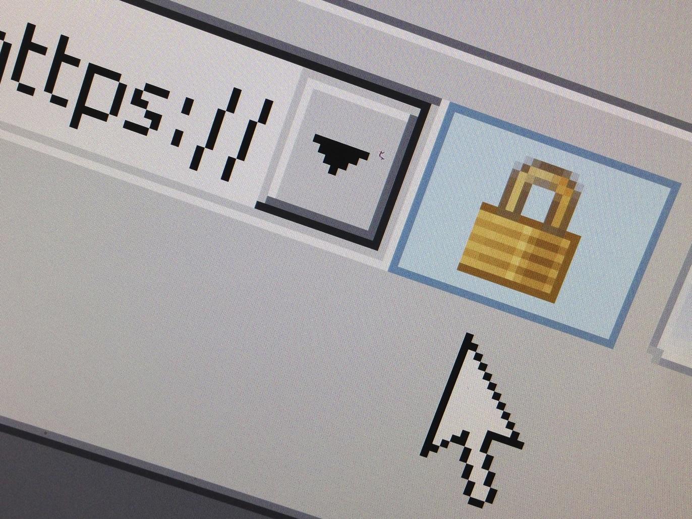 كل المتصفحات تقريبا تستخدم رمز القفل الذي يظهر على يمين عنوان الموقع في المتصفح للدخول على قائمة الأذونات (رويترز)