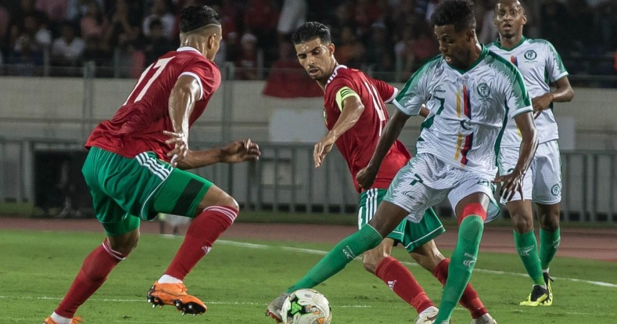 جزر القمر تهدي المغرب بطاقة التأهل لأمم أفريقيا وليبيا ...