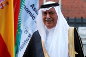 Saudi Arabia Minister of State Ibrahim Abdulaziz Al-Assaf is seen at the G20 summit in Hamburg, Germany July 7, 2017. REUTERS/Wolfgang Rattay