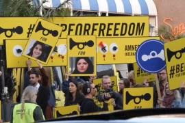 تضامن واسع مع الناشطات السعوديات المعتقلات عبر العالم (الجزيرة)