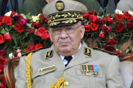 epa07465125 Algerian Deputy Minister for National Defense and Chief of Staff of the People's National Army (ANP), Ahmed Gaid Salah attends an event in Algiers, Algeria, 27 June 2012 (issued 26 March 2019). Official Algerian media reports state Salah on 26 March called for the implementation of Article 102 of the Constitution to end the current political crisis in the county, which allows the Constitutional Council to declare the position of president vacant if the leader is unfit to rule. Protests continue in Algeria despite Algeria's president announcement on 11 March that he will not run for a fifth Presidential term and postponement of presidential elections previously scheduled for 18 April 2019 until further notice. EPA-EFE/STRINGER