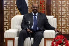 Omar Al-Bashir – Guinean President Alpha Conde – Matamela Cyril Ramaphosa in Ethiopia- – ADDIS ABABA, ETHIOPIA – FEBRUARY 9: Sudanese President Omar Al-Bashir arrives at the Addis Ababa Bole International Airport to attend the 32nd African Union Leaders' Summit in Addis Ababa, Ethiopia on February 9, 2019.