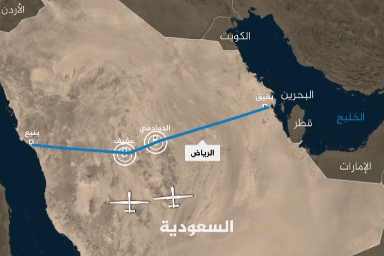 استهداف خط الأنابيب السعودي الحوثيون ينتقلون لمرحلة جديدة من الحرب