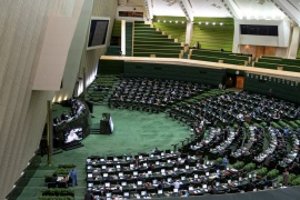 A general view of the Iranian parliament in Tehran, Iran June 25, 2019.  Nazanin Tabatabaee/West Asia News Agency via REUTERS. ATTENTION EDITORS – THIS PICTURE WAS PROVIDED BY A THIRD PARTY