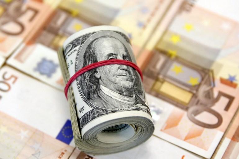 ديون أميركا تتجه لتبلغ 80 تريليون دولار بنهاية العام وبمنطقة اليورو بلغت 53 تريليونا (رويترز)