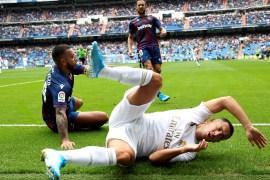 هازارد دائم الإصابات مع ريال مدريد (وكالة الأنباء الأوروبية)