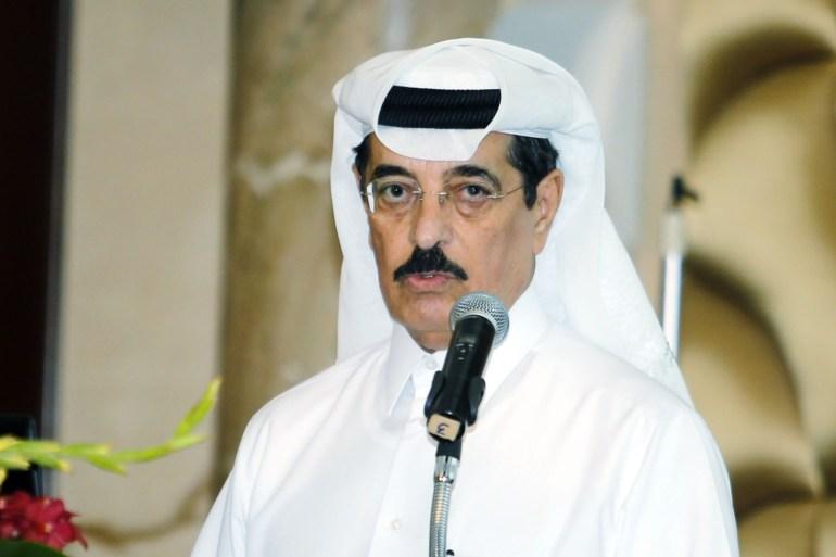 حمد بن عبد العزيز الكواري وزير الدولة ورئيس مكتبة قطر الوطنية (الجزيرة)