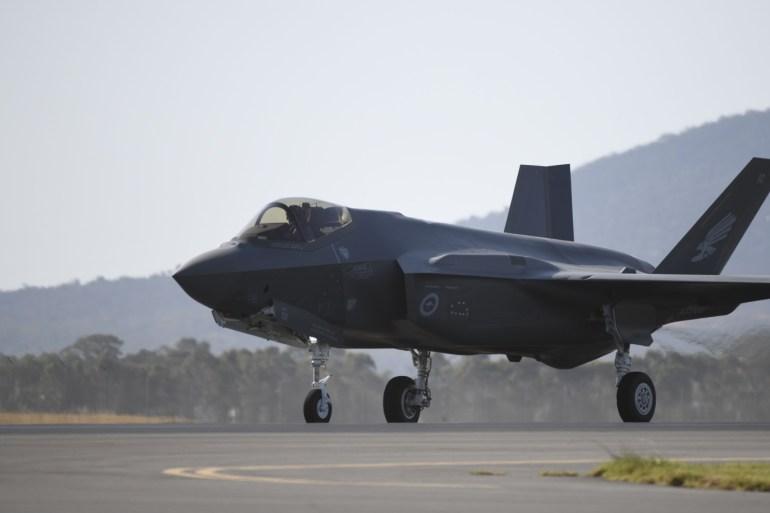 مقاتلات إف-35 هي أكثر المقاتلات الأميركية تطورا ويمتلكها قلة من حلفاء واشنطن (الأناضول)
