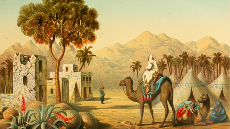 صور من التاريخ الإسلامي - بلاد العرب