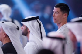 Soccer Football – Dubai Globe Soccer Awards – Madinat Jumeirah Resort, Dubai, United Arab Emirates – December 28, 2019  Juventus' Cristiano Ronaldo during a press conference  REUTERS/Satish Kumar Subramani