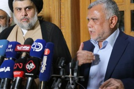 Iraq: Al-Sadr allies with Fatah to form majority group- – NAJAF, IRAQ – JUNE 12 : (—-EDITORIAL USE ONLY – MANDATORY CREDIT –