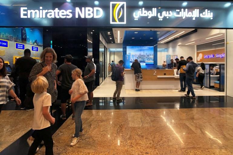 بنك الإمارات دبي الوطني سرح نحو 800 شخص (رويترز)