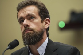 WASHINGTON, DC – SEPTEMBER 5: Twitter chief executive officer Jack Dorsey testifies during a House Committee on Energy and Commerce hearing about Twitter's transparency and accountability, on Capitol Hill, September 5, 2018 in Washington, DC. Earlier in the day, Dorsey faced questions from the Senate Intelligence Committee about how foreign operatives use their platforms in attempts to influence and manipulate public opinion.   Drew Angerer/Getty Images/AFP== FOR NEWSPAPERS, INTERNET, TELCOS & TELEVISION USE ONLY ==