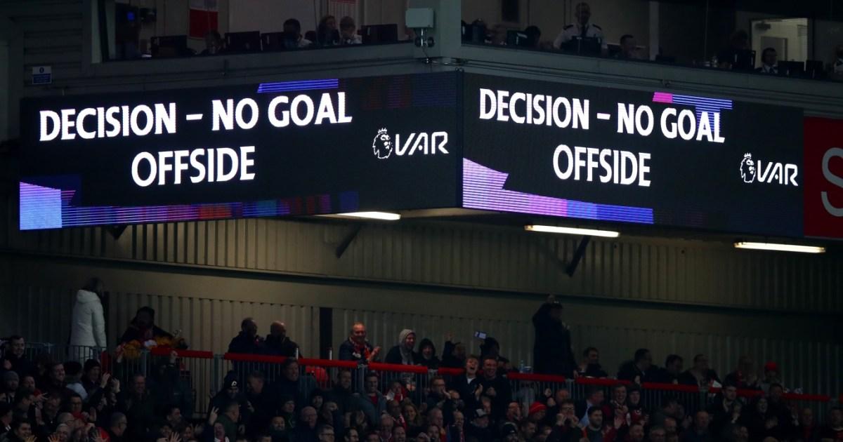 قانون التسلل الجديد في كرة القدم
