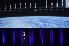ADELAIDE, AUSTRALIA – SEPTEMBER 29:  SpaceX CEO Elon Musk speaks at the International Astronautical Congress on September 29, 2017 in Adelaide, Australia. Musk detailed the long-term technical challenges that need to be solved in order to support the creation of a permanent, self-sustaining human presence on Mars.  (Photo by Mark Brake/Getty Images)