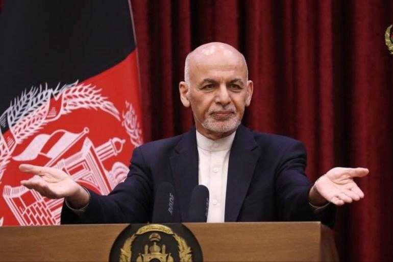 الرئيس الأفغاني: طالبان انتصرت ومغادرتي البلاد لتجنب إراقة الدماء  اعترف الرئيس الأفغاني أشرف غني، اليوم الأحد، بأن حركة طالب 46fe2acd-8bb9-421a-be5a-4957a9d24226