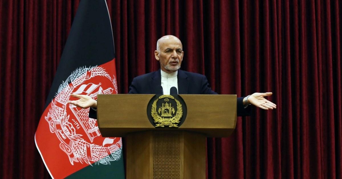 مسؤول أفغاني: الرئيس أشرف غني لن يخوض الانتخابات المبكرة المقترحة
