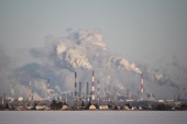 A view shows the Gazprom Neft's oil refinery in Omsk, Russia February 10, 2020. REUTERS/Alexey Malgavko