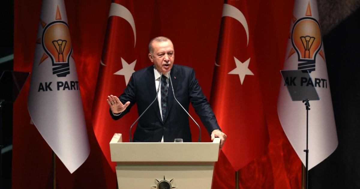 """أنقرة تستدعي السفير الأميركي.. أردوغان: لم يعد لأحد مساءلة تركيا عن عملياتها في العراق وسوريا بعد """"المجزرة"""" بحق مواطنينا"""