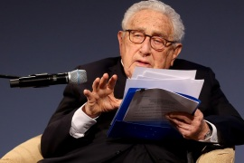 BERLIN, GERMANY – JANUARY 21: Former United States Secretary of State and National Security Advisor Henry Kissinger attends the ceremony for the Henry A. Kissinger Prize on January 21, 2020 in Berlin, Germany. The annual prize is awarded by the American Academy in Berlin for