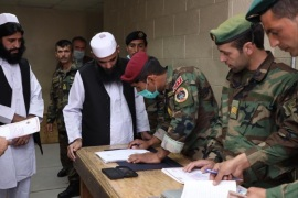 Afghan government releases 100 Taliban- – KABUL, AFGHANISTAN – APRIL 9: (—-EDITORIAL USE ONLY – MANDATORY CREDIT –