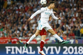 Soccer Football – Champions League Final – Real Madrid v Liverpool – NSC Olympic Stadium, Kiev, Ukraine – May 26, 2018   Real Madrid's Cristiano Ronaldo in action                REUTERS/Kai Pfaffenbach     TPX IMAGES OF THE DAY