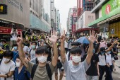 Hong Kong Protests Against China's Proposed Security Law