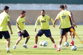 Barcelona Players Return To Training Following Coronavirus Lockdown