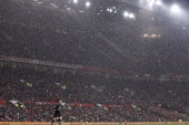 Soccer Football – Premier League – Manchester United vs AFC Bournemouth – Old Trafford, Manchester, Britain – December 13, 2017   General view during the match while it is raining      REUTERS/Darren Staples    EDITORIAL USE ONLY. No use with unauthorized audio, video, data, fixture lists, club/league logos or