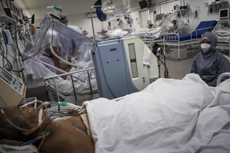 إصابات كورونا بالبرازيل تجاوزت 300 ألف