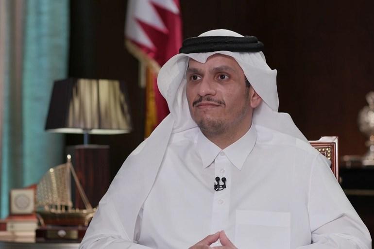 وزير الخارجية القطري الشيخ محمد بن عبد الرحمن آل ثاني (الجزيرة)