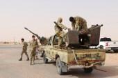 قوات الوفاق ترابط منذ أسابيع على تخوم مدينة سرت استعدادا لعملية محتملة لاستعادتها (الأناضول)