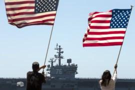 ناشونال إنترست: الهيمنة العسكرية الأميركية كانت كارثية للشرق الأوسط وأميركا جنود من الجيش الأمريكي في مدينة قندهار (رويترز- أ RTX1QHM1