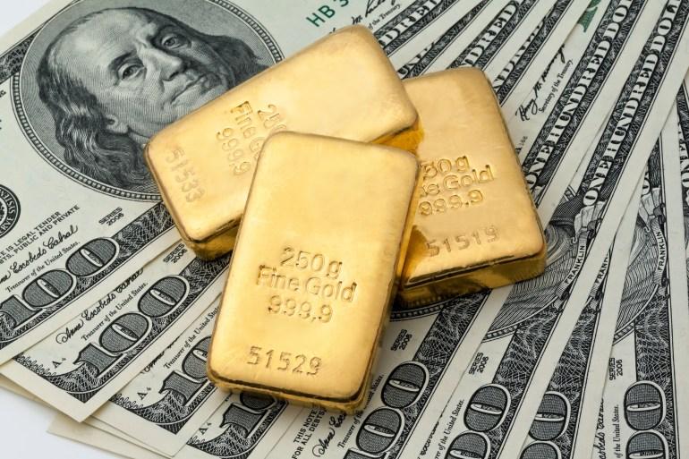 السعر الفوري للذهب ارتفع 1.8% إلى 1766.50 دولارا للأوقية في تعاملات اليوم الخميس (وكالات)