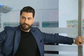 """الممثل السوري معتصم النهار نشر عبر """"القصص"""" بحسابه على إنستغرام، المقطع المسجل للحظة وجوده في مبنى بالقرب من تفجير مرفأ بيروت (مواقع التواصل)"""