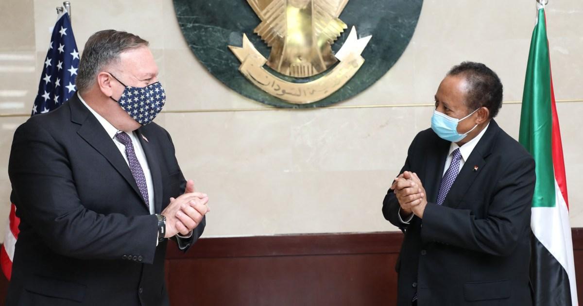 بومبيو يوقع قرار شطب السودان من قائمة الدول الراعية للإرهاب